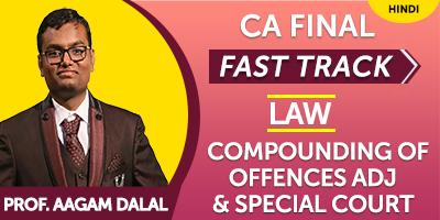 CA Final Law Fast Track | JK Shah Online