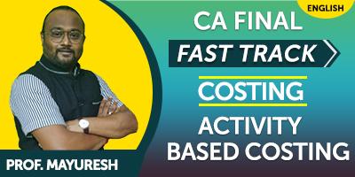 CA Final SCM & Performance Evaluation Fast Track