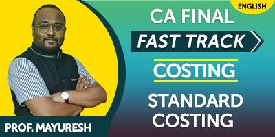 CA Final SCM & Performance Evaluation Fast Track - JK Shah
