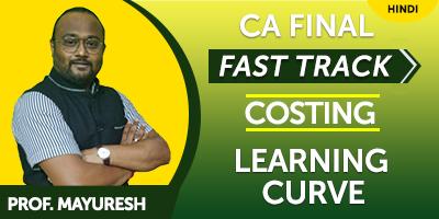CA Final Exams SCM & Performance Evaluation Fast Track - JK Shah