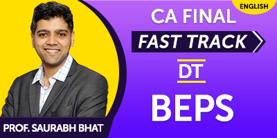CA Final Fast Track BEPS  - JK Shah Online