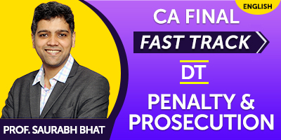 CA Final Fast Track Penalty & Prosecution - JK Shah Online