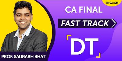 CA Final Direct Tax Fast Track - JK Shah Online