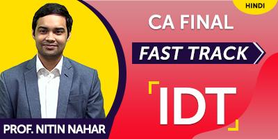 CA Final Indirect Tax Fast Track - JK Shah