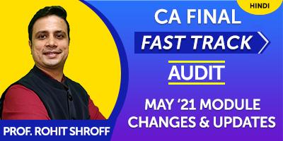 May 21 Module Changes, Updates - Prof. Rohit Shroff  - J K Shah Online