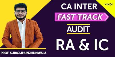 Risk Assessment and Internal Control (Fast Track) - Prof. Suraj Jhunjhunwala (Hindi) for Nov 21