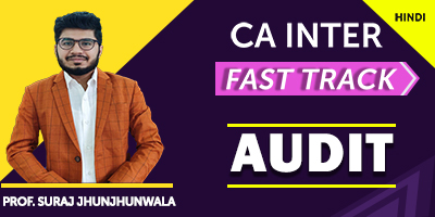 Auditing and Assurance (Fast Track) - Suraj Jhunjhunwala (Hindi) for Nov 21